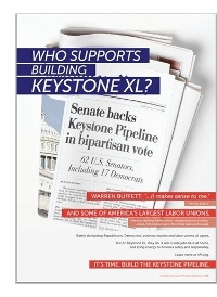 Who Supports Building Keystone XL