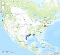 LNG Export Map