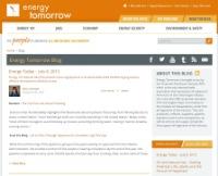Energy Tomorrow Blog